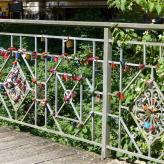 Celle französischer Garten, Brücke