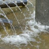 Brunnen vor dem CUC