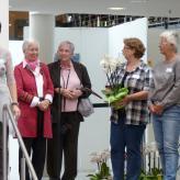 Heidi Förster und Edith Kosiek-vorm Walde haben jeweils einen Quilt in der Sammlung der Gilde.