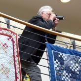 Unser Chefredakteur Thomas Gretscher auf der Jagd nach den besonderen Bildern für unsere Mitgliederzeitschrift