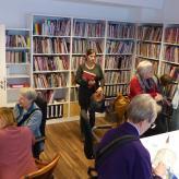 Besuch der Gilde-Bibliothek