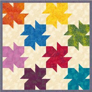 Kurs Nr.  21-2-18-2 Tesselation 1 Blumen und Blätter (One-Patch-Muster)