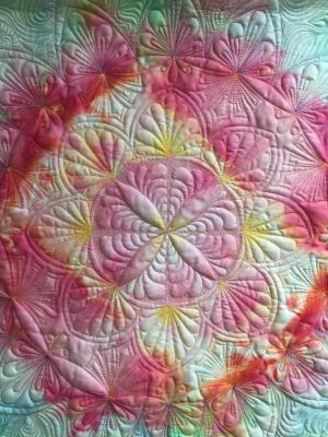 Kurs Nr. 21-3-1 Mandala entwerfen und quilten