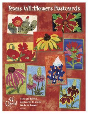 Kurs Nr. 21-5-13 Textile Postkarten mit Wildblumen