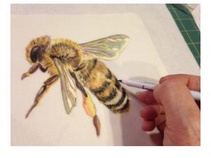 Kurs Nr. 11 Eine Biene aus Tinte