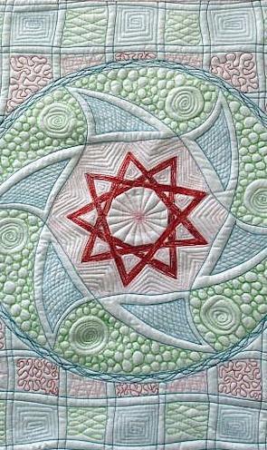 Mandalas malen mit der Nähmaschine – Christine Küchel