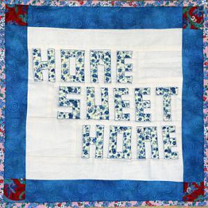 Berühmt Schrift-Seminole, Texte nähen mit Nadel und Stoff | Patchwork EH45