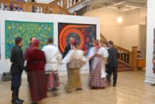 Ausstellungseröffnung St. Petersburg 2013